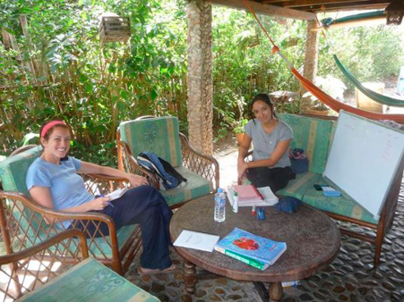 Mar Azul Spanish School in Montanita - Ecuador