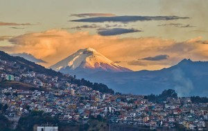 Cotopaxi view from Quito