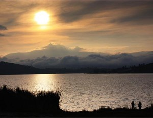 Gorgeous Sunset Ecuador