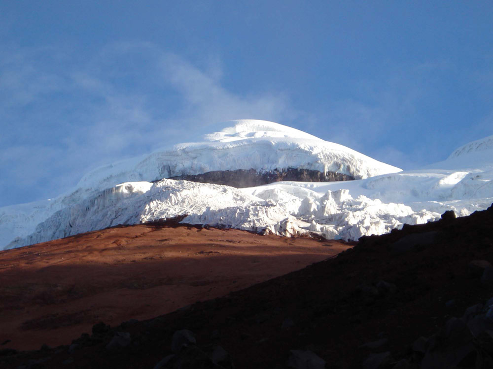 Cotopaxi in the Highlands of Ecuador