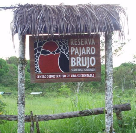 Reserva Parajo Brujo in Galapagos