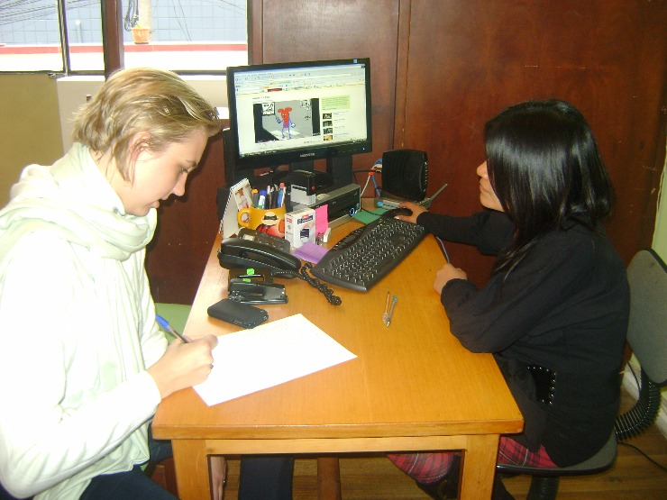 Plenty of time in a one-to-one langauge class
