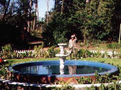 Hacienda in Machachi: Garden